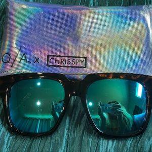 Quay Australia x Chrisspy sunglasses